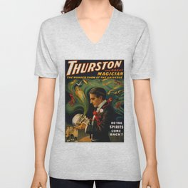 Thurston The Great Magician - Spirits Unisex V-Neck