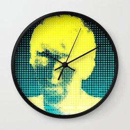 Colin Morgan Half-tone Wall Clock