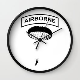 Airborne Jump Paratrooper Wall Clock