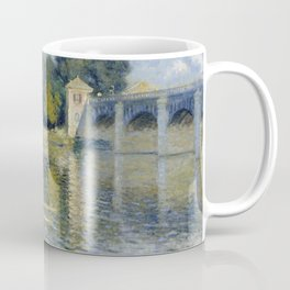 The Bridge at Argenteuil by Claude Monet Coffee Mug