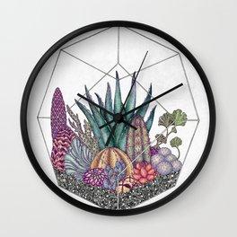 Love cacti Wall Clock