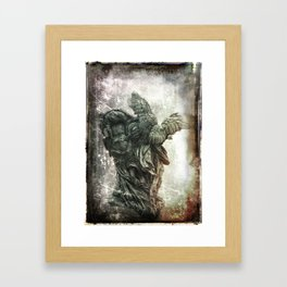 I Will Carry You Framed Art Print