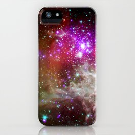 NGC 281 nebula with active star formation (NASA/Chandra) iPhone Case