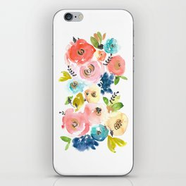 Floral POP #2 iPhone Skin
