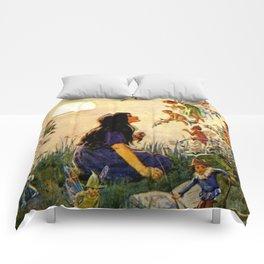 """Vintage Fairies' by Margaret Tarrant Comforters"