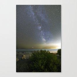 Milkyway at Pebble Beach Canvas Print