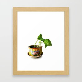 luncheon meat plant Framed Art Print
