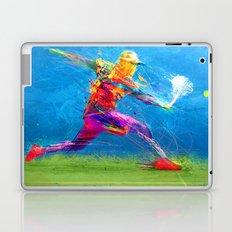 Abstract Tennis Laptop & iPad Skin