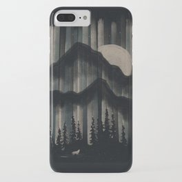 A Wolf in the Night... iPhone Case