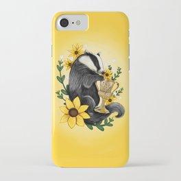 Hufflepuff Crest iPhone Case