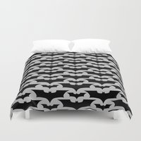 bats Duvet Covers featuring Bats by Sney1
