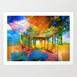 Colourful Dreams Art Print