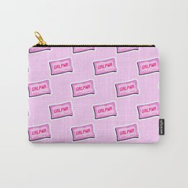 #GRLPWR Girl power Pink Carry-All Pouch