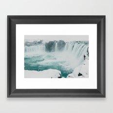 Goðafoss | Edge of the Arctic Framed Art Print
