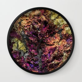 METALLIC MINERAL Wall Clock