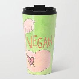 Vegan Strong Travel Mug
