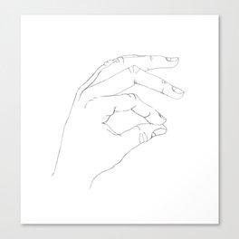 A Okay Canvas Print