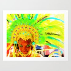 Be Bright  Art Print