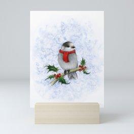 Happy Holly Jays! Mini Art Print