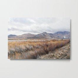 Mountains for Mining - Salt Lake City, Utah 2015 Metal Print