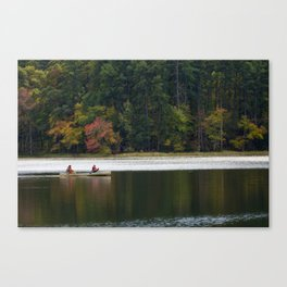 Autumn Boating at Daingerfield Canvas Print