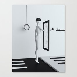 On the other side Canvas Print