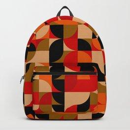 vector Design Deco, rustic colors. Backpack