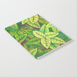Spring leaves Notebook