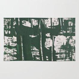 NYC Walls (zelen) Rug