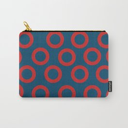 Fishman Donuts Red and Blue Carry-All Pouch
