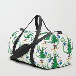Christmas tree decoration Duffle Bag