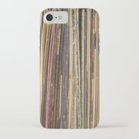 records iPhone & iPod Cases featuring Records by Cassia Beck