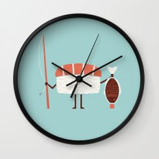Catch Of The Day Wall Clock