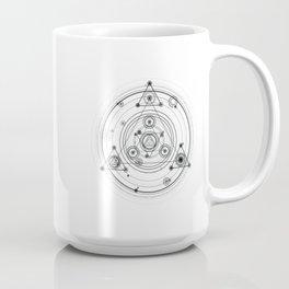 Sacred geometry and geometric alchemy design Coffee Mug