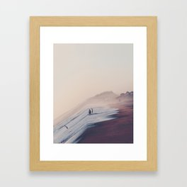 See The World From A Different Angle Framed Art Print