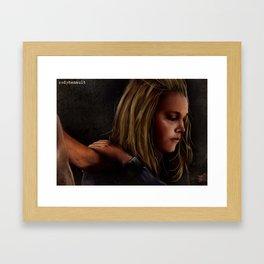 "Bellarke - ""Do you still have hope?"" Framed Art Print"
