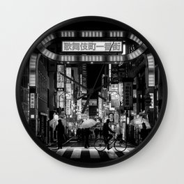T0:KY:00 / Kabukichō, Tokyo's Red Light District, 4AM Wall Clock
