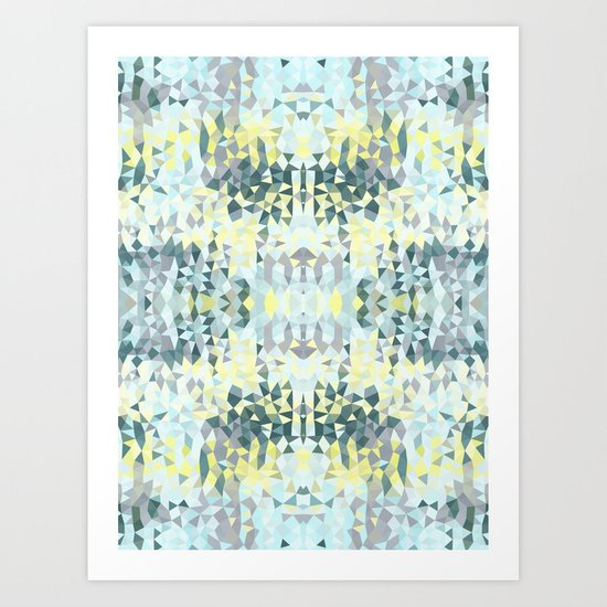 Spring Rain Tribal Art Print