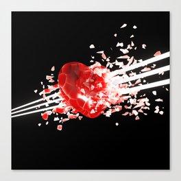 Unstable Love Canvas Print