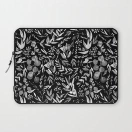 Black Eucalyptus Laptop Sleeve