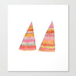 shaggy  triangle Canvas Print