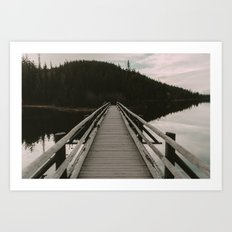 Lead Me On Art Print