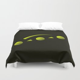 The LATERAL THINKING Project - Avance Duvet Cover