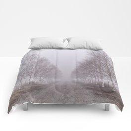 Foggy Path Comforters
