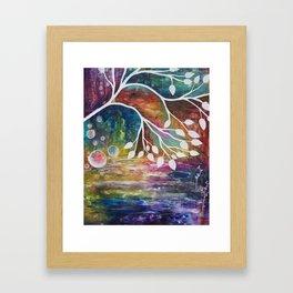 Bird to Flight Framed Art Print