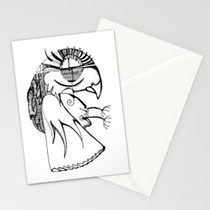 A kind of parrot Stationery Cards