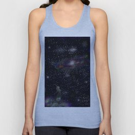 This Life Is Beautiful, With the Colors of The Universe Unisex Tank Top