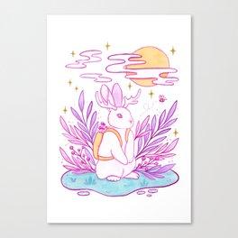 Plant Jackalope Canvas Print