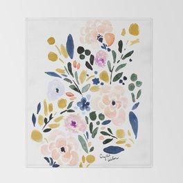 Sierra Floral Throw Blanket