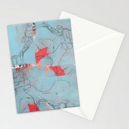 Yoga Pants (revised for digital) Stationery Cards
